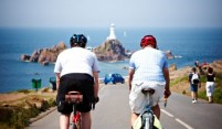 Cycling to La Corbiere Lighthouse